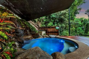 Platypus Springs Rainforest Retreat - Carnarvon Accommodation
