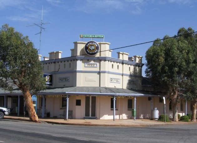 Royal Hotel Grong Grong - Carnarvon Accommodation