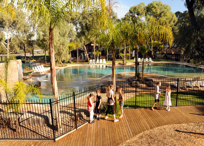 BIG4 Renmark Riverfront Caravan Park - Carnarvon Accommodation