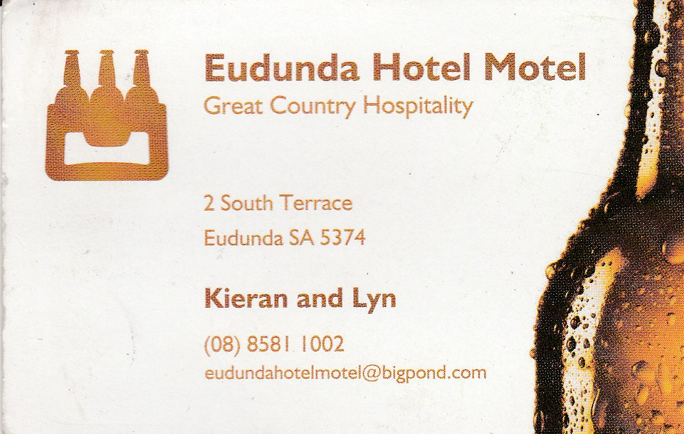 Eudunda Hotel Motel - Carnarvon Accommodation