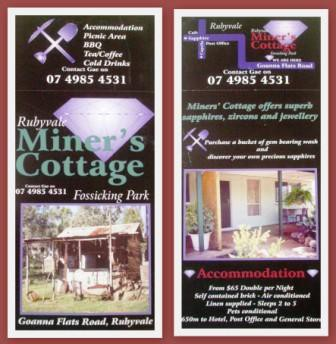 Miner's Cottage - Carnarvon Accommodation