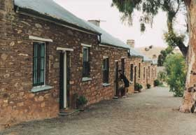 Burra Heritage Cottages - Tivers Row - Carnarvon Accommodation