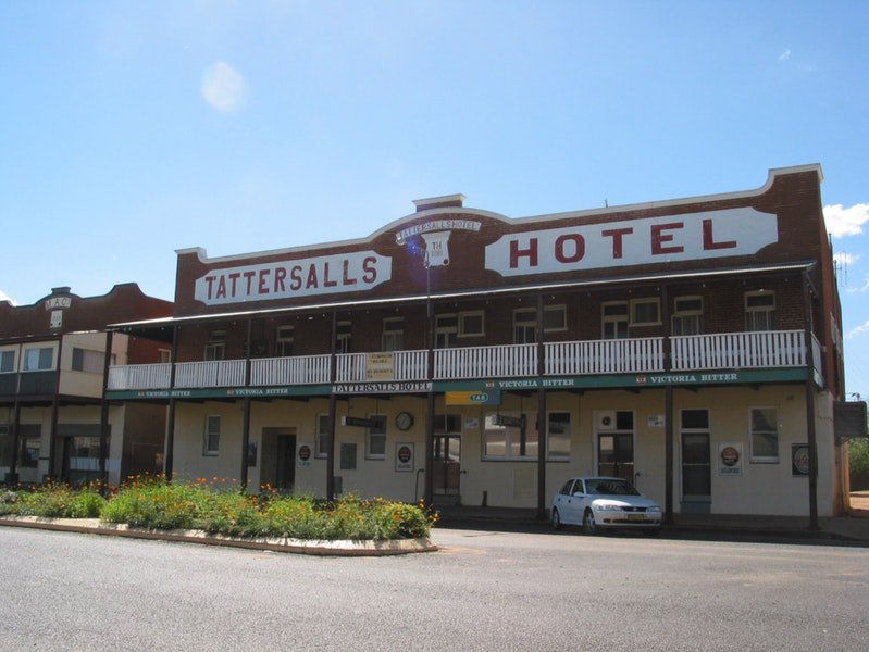 Tattersalls Hotel Baradine - Carnarvon Accommodation