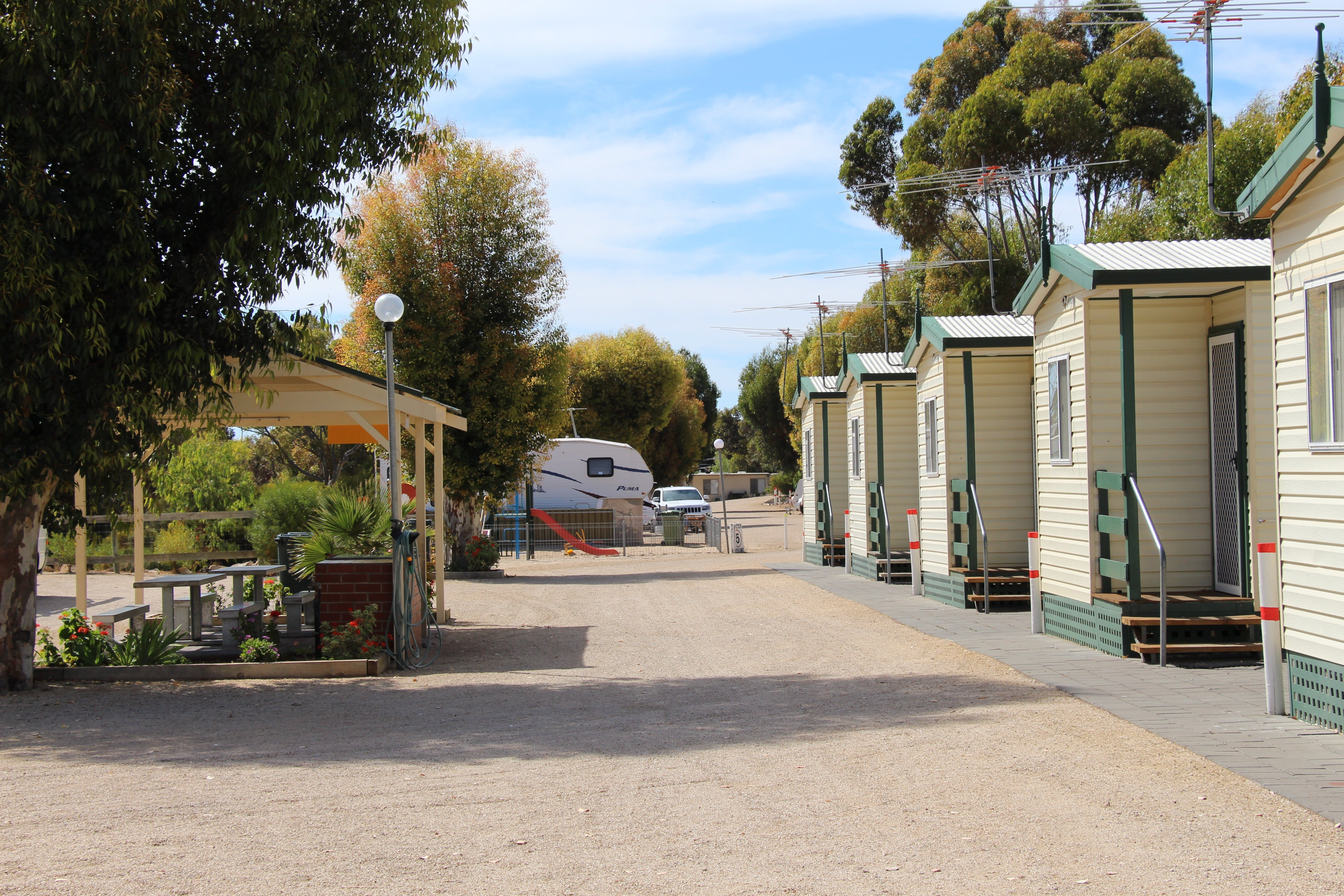 Ardrossan Caravan Park - Carnarvon Accommodation