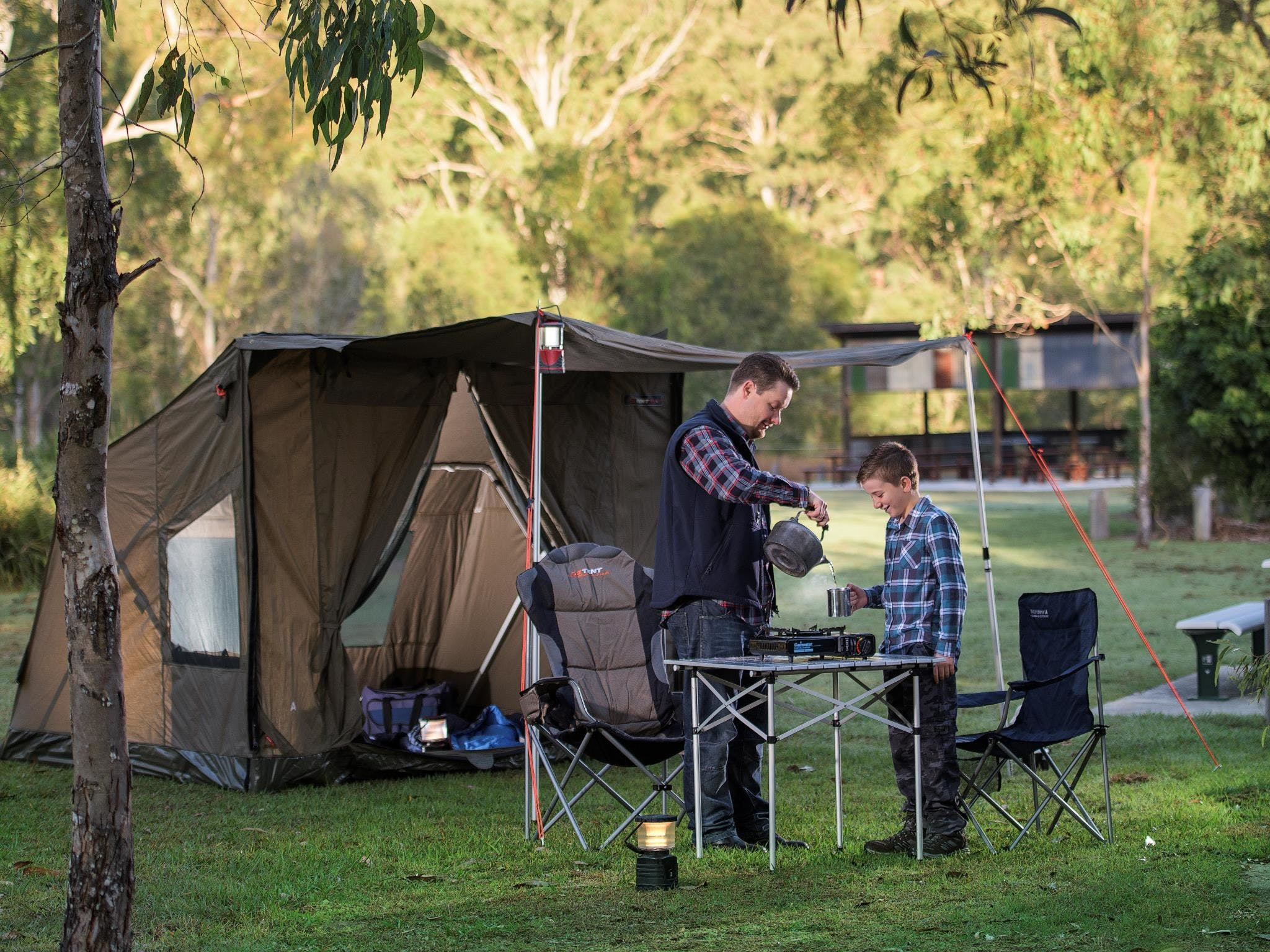 Hardings Paddock Campground - Carnarvon Accommodation