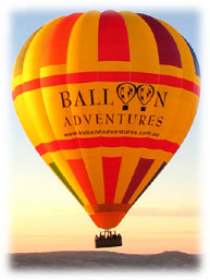 Balloon Adventures Barossa Valley - Carnarvon Accommodation