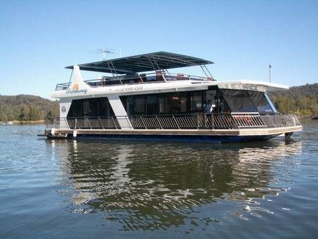 Able Hawkesbury River Houseboats - Carnarvon Accommodation