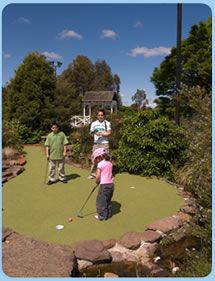 Wetlands Mini Golf - Carnarvon Accommodation
