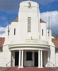Guildford Town Hall - Carnarvon Accommodation