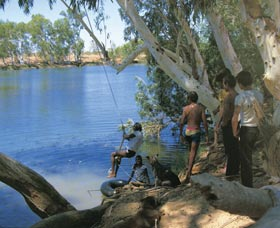 Rocky Pool - Carnarvon Accommodation