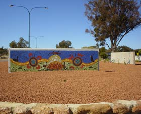 Council Office Mosaic - Carnarvon Accommodation