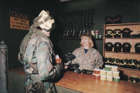 Indoor Skirmish - Paintball Sports - Carnarvon Accommodation