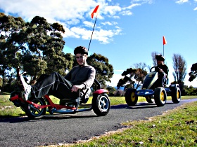 Pedal Buggies Tasmania - Carnarvon Accommodation