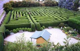 Westbury Maze and Tea Room - Carnarvon Accommodation