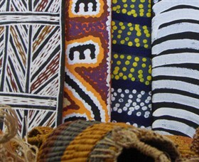 Outstation Gallery - Aboriginal Art from Art Centres - Carnarvon Accommodation