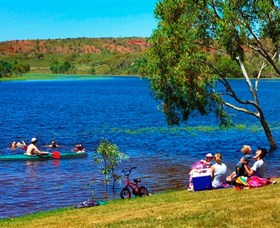 Tingkkarli/Lake Mary Ann - Carnarvon Accommodation