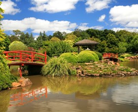 Japanese Gardens - Carnarvon Accommodation