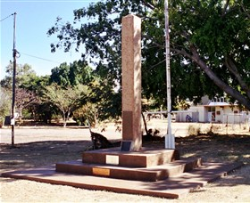 Mount Isa Memorial Cenotaph - Carnarvon Accommodation