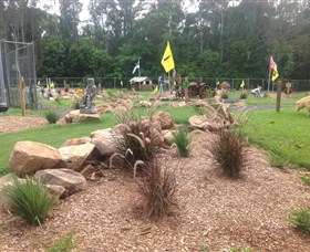 The Cove Miniature Golf Course - Carnarvon Accommodation