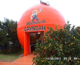 Gayndahs Big Orange - Carnarvon Accommodation