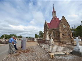 Trailblazing Women Interpretive Trail at West Terrace Cemetery