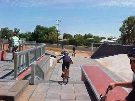 Charleville - Skate Park - Carnarvon Accommodation
