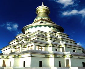 The Great Stupa of Universal Compassion - Carnarvon Accommodation