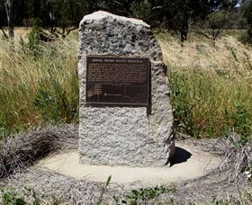 Aerial Trunk Route Memorial - Carnarvon Accommodation
