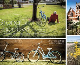 Grong Grong Borrow Bikes - Carnarvon Accommodation