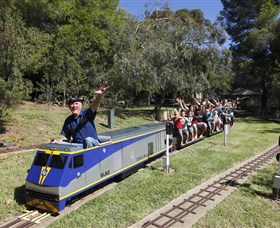Willans Hill Miniature Railway - Carnarvon Accommodation
