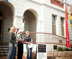 Wangaratta Family History Society - Carnarvon Accommodation