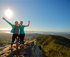 Mount Larcom Climb - Carnarvon Accommodation