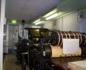 Queanbeyan Printing Museum - Carnarvon Accommodation
