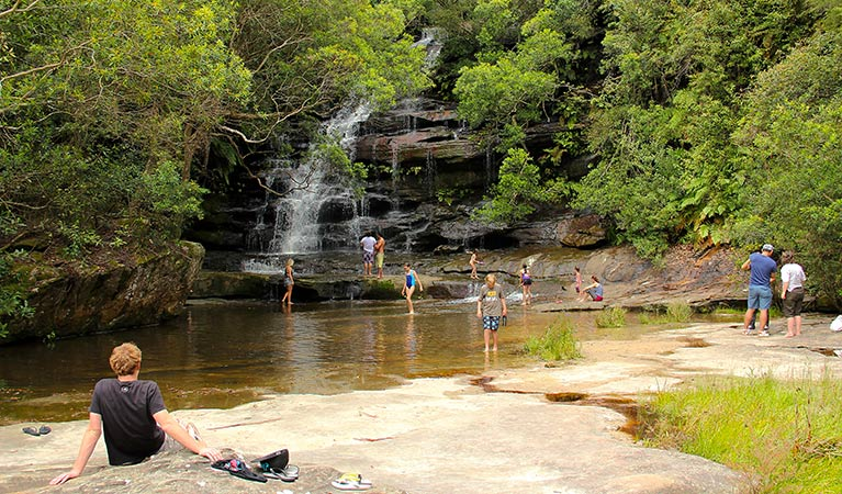 Somersby Falls picnic area - Carnarvon Accommodation