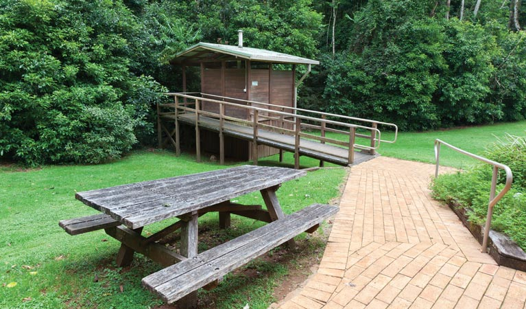 The Glade picnic area - Carnarvon Accommodation