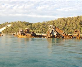 Tangalooma Wrecks Dive Site - Carnarvon Accommodation