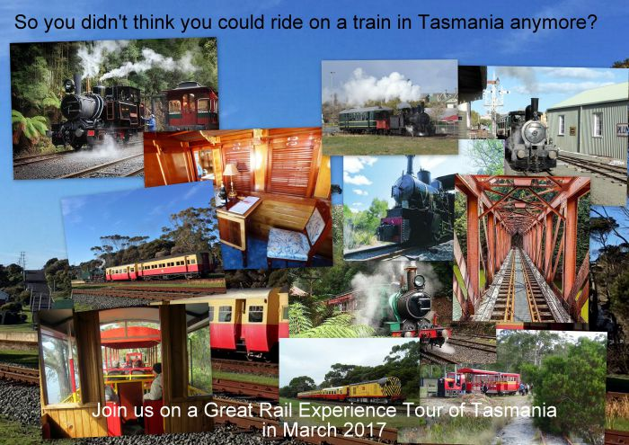 Great Rail Experiences  Tasmania Tour 2017 - Carnarvon Accommodation