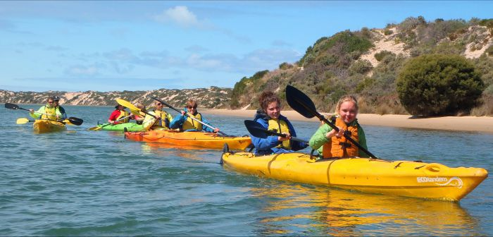 Canoe the Coorong - Carnarvon Accommodation