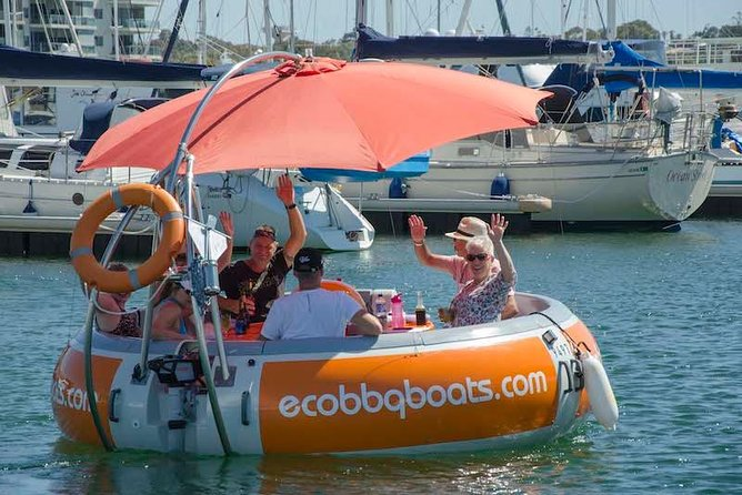 Self-Drive BBQ Boat Hire Mandurah - Group of 7 - 10 people - Carnarvon Accommodation