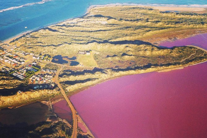 70-minute Pink Lake and Port Gregory Scenic Flight From Geraldton