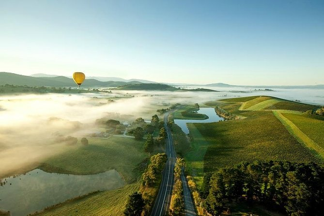 Yarra Valley Balloon Flight And Winery Tour - Carnarvon Accommodation