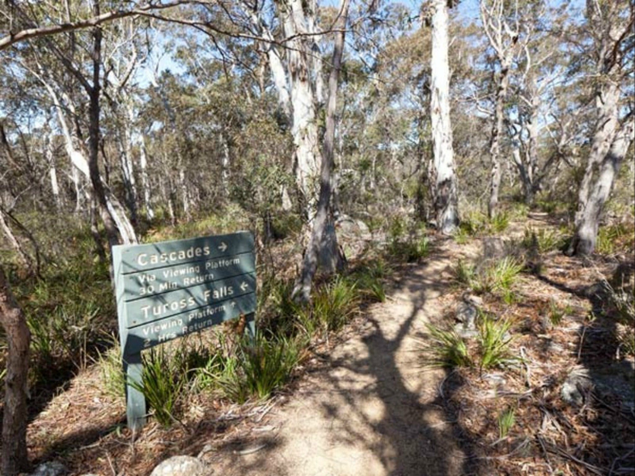 Cascades walking track and viewing platform - Carnarvon Accommodation