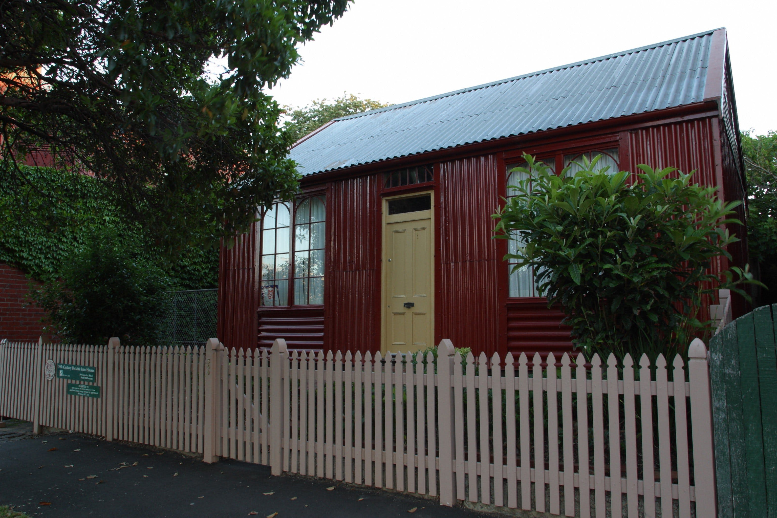 Portable Iron Houses - Carnarvon Accommodation