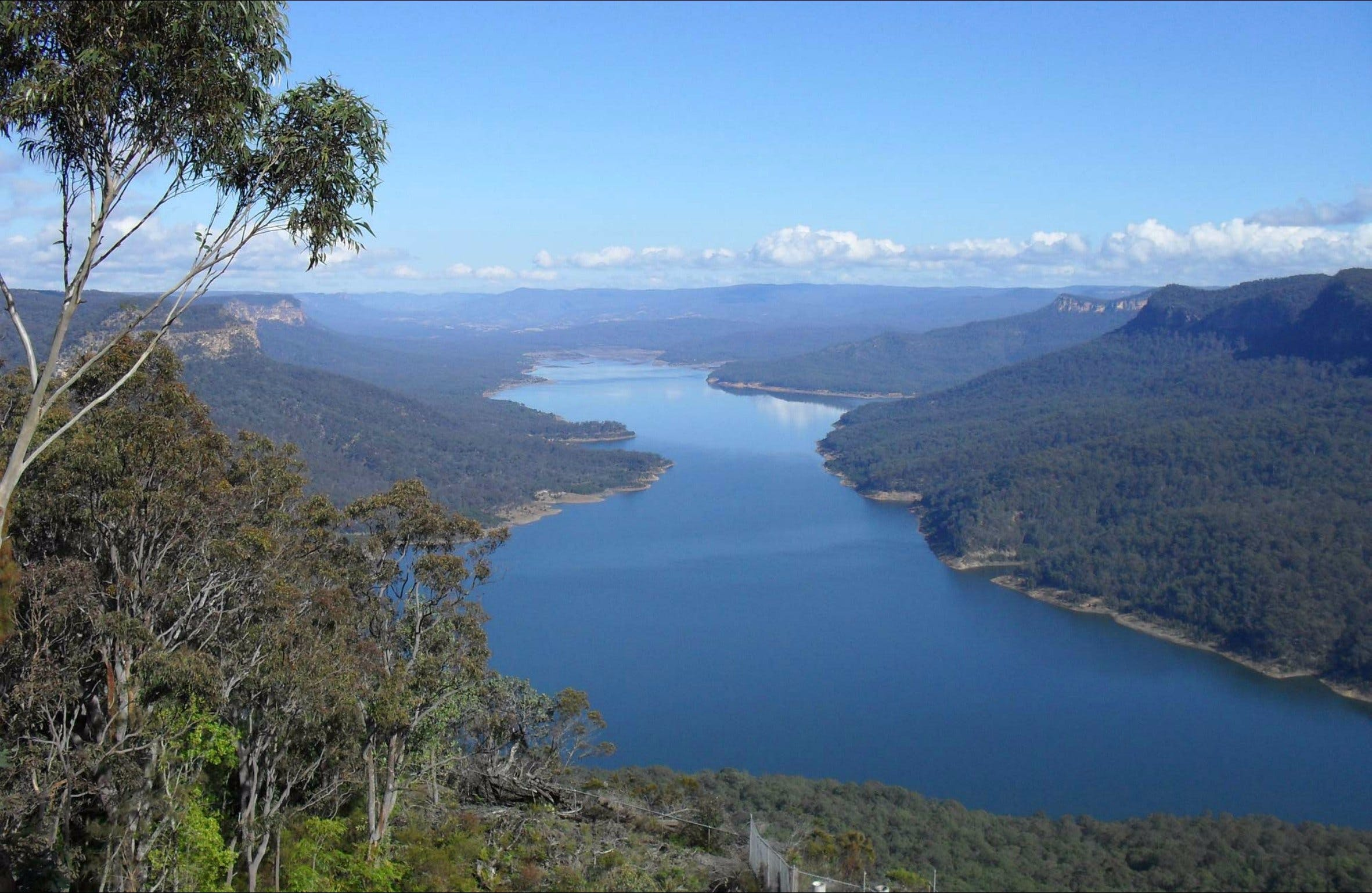 Burragorang lookout and picnic area - Carnarvon Accommodation