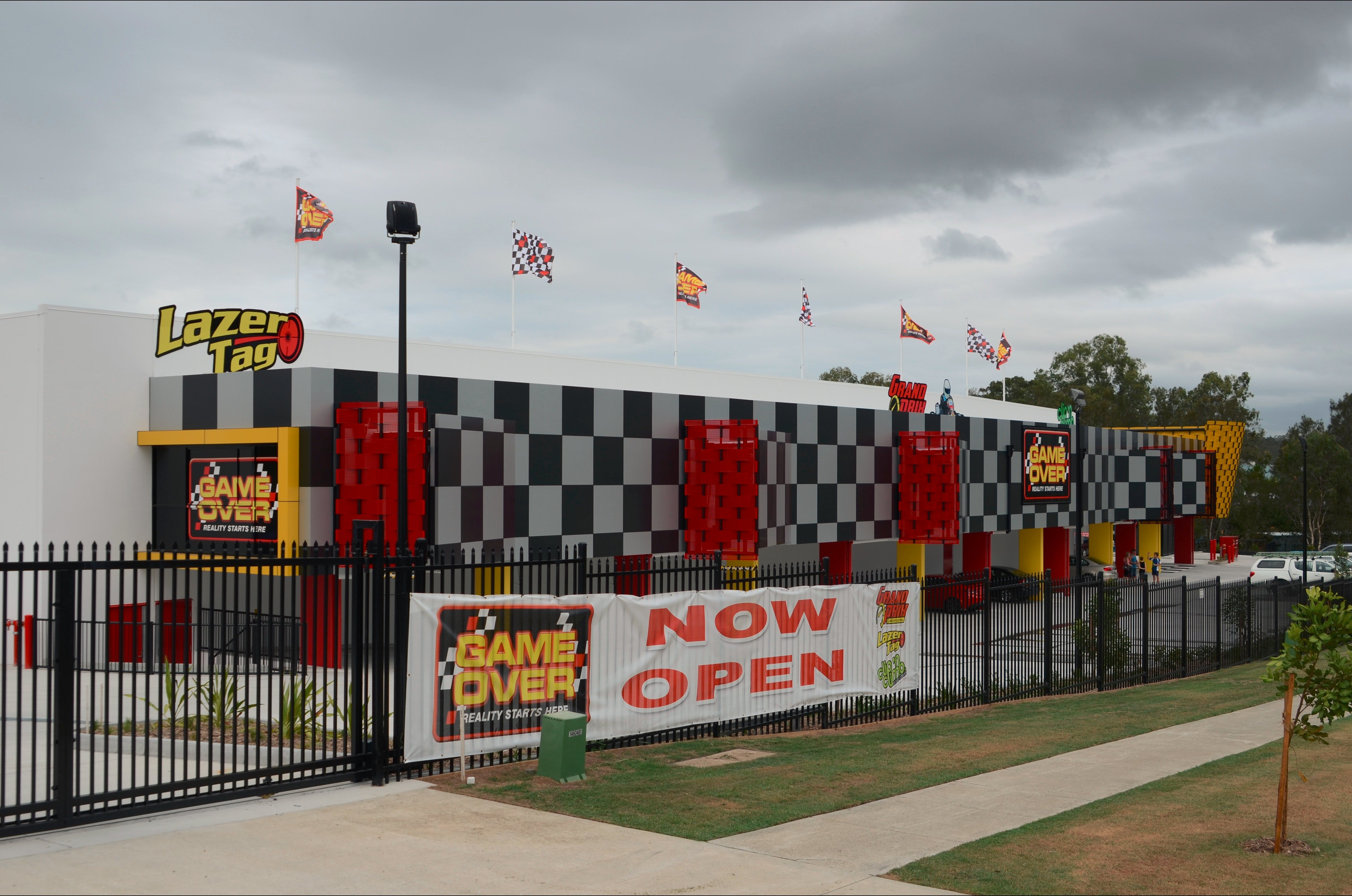 Game Over Indoor Go Karting Adventure Climbing Walls and Lazer Tag Centre - Carnarvon Accommodation