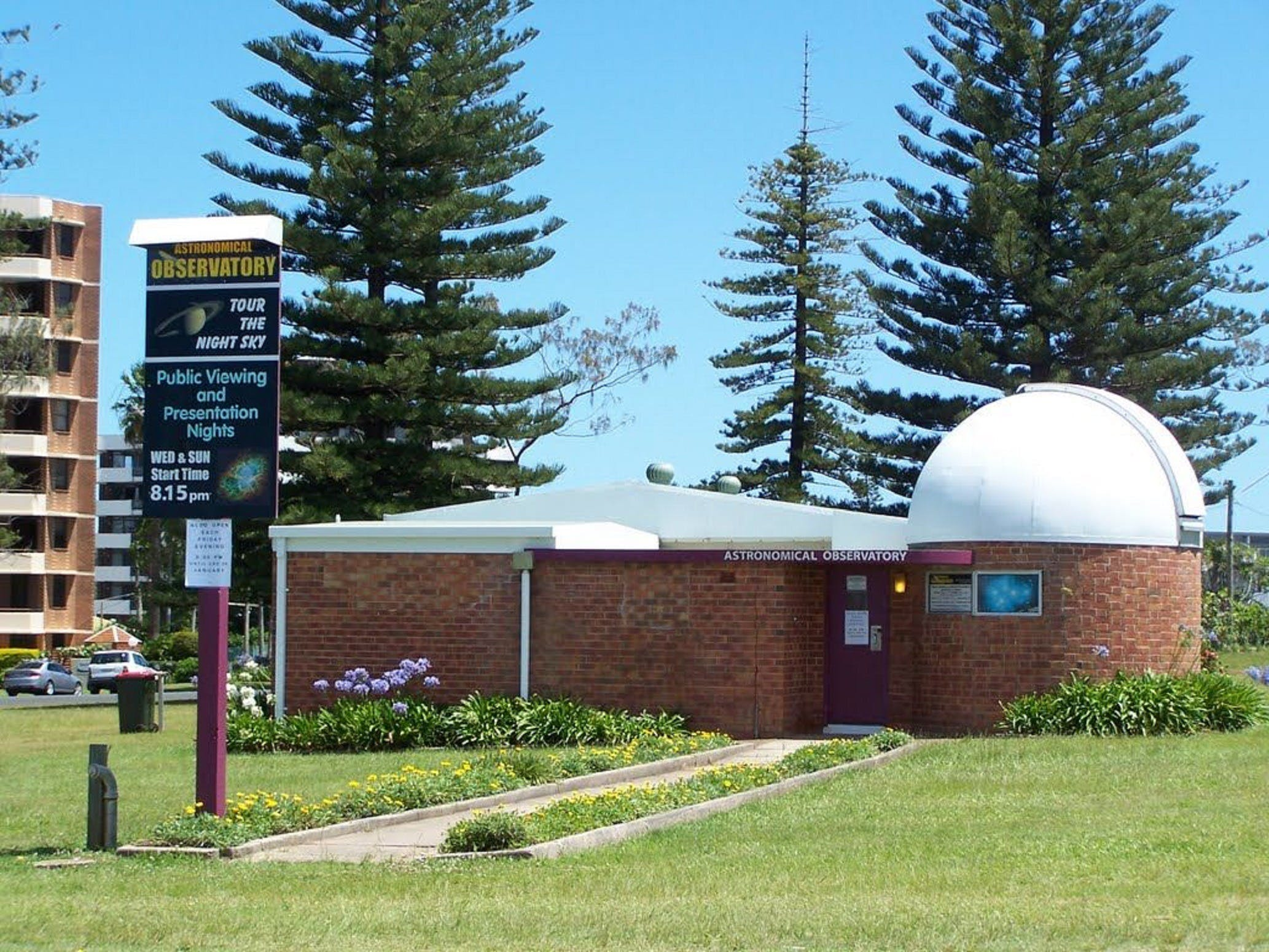 Port Macquarie Astronomical Observatory - Carnarvon Accommodation