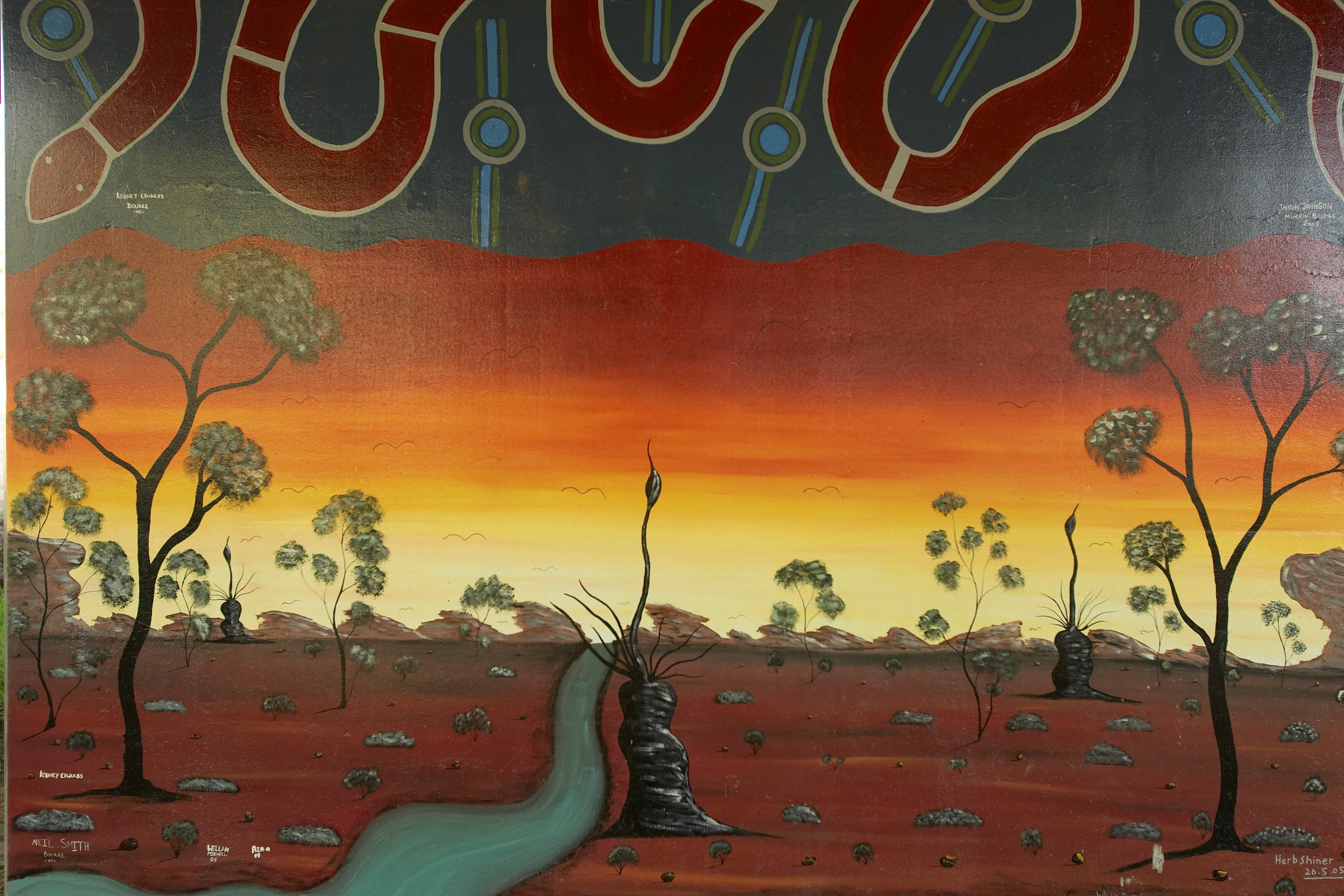 Warakirri Murals - Carnarvon Accommodation