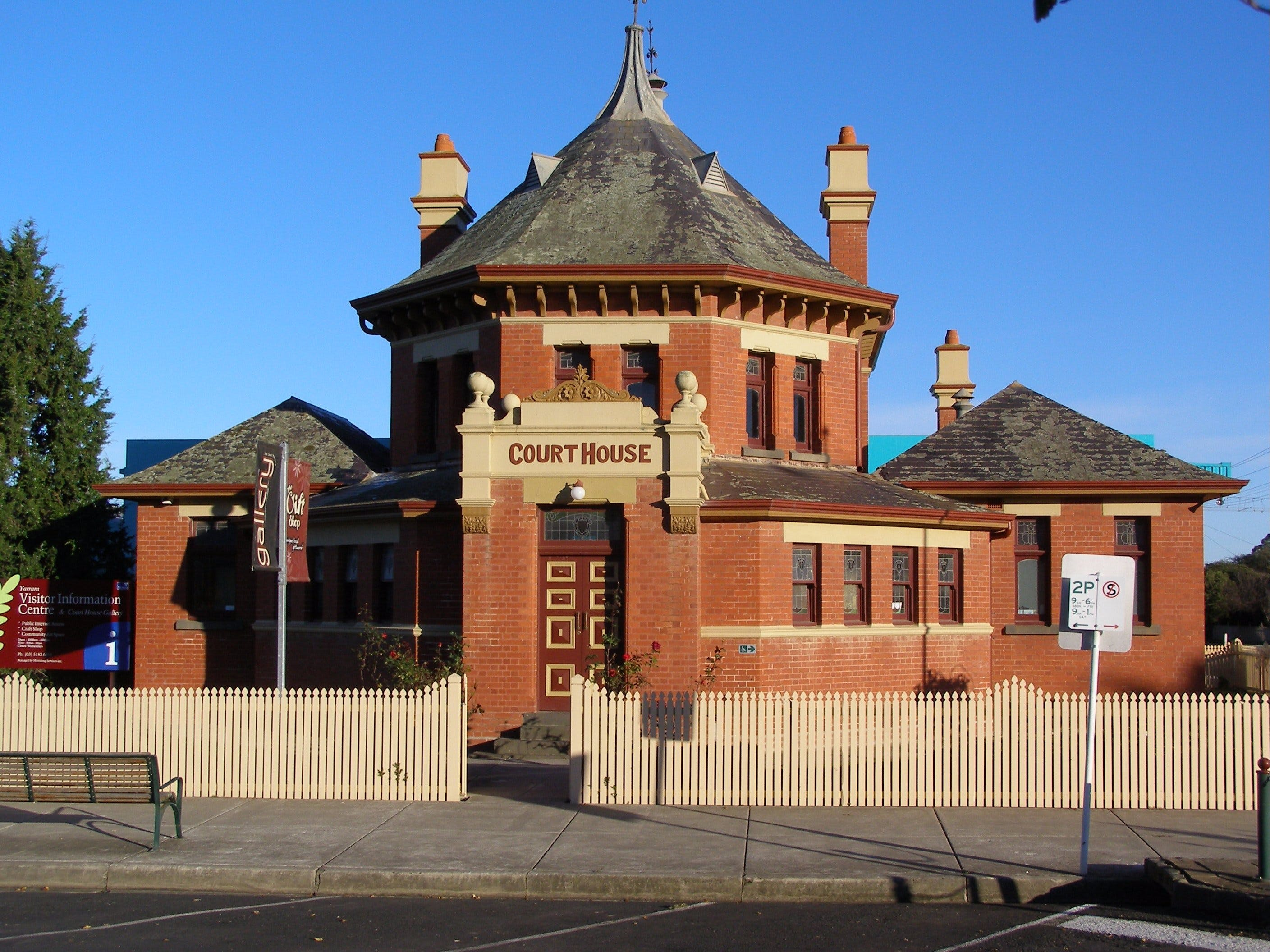 Yarram Courthouse Gallery - Carnarvon Accommodation