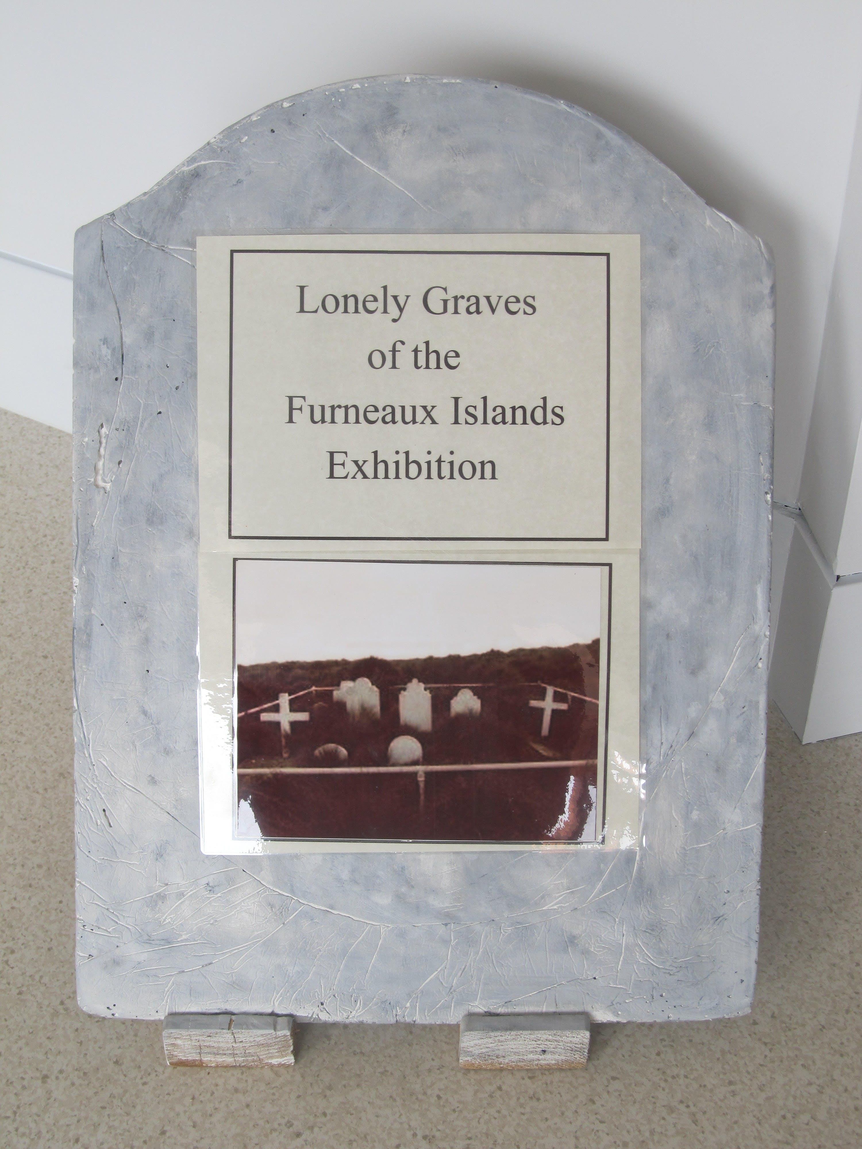 Lonely Graves of the Furneaux Islands Exhibition - Carnarvon Accommodation
