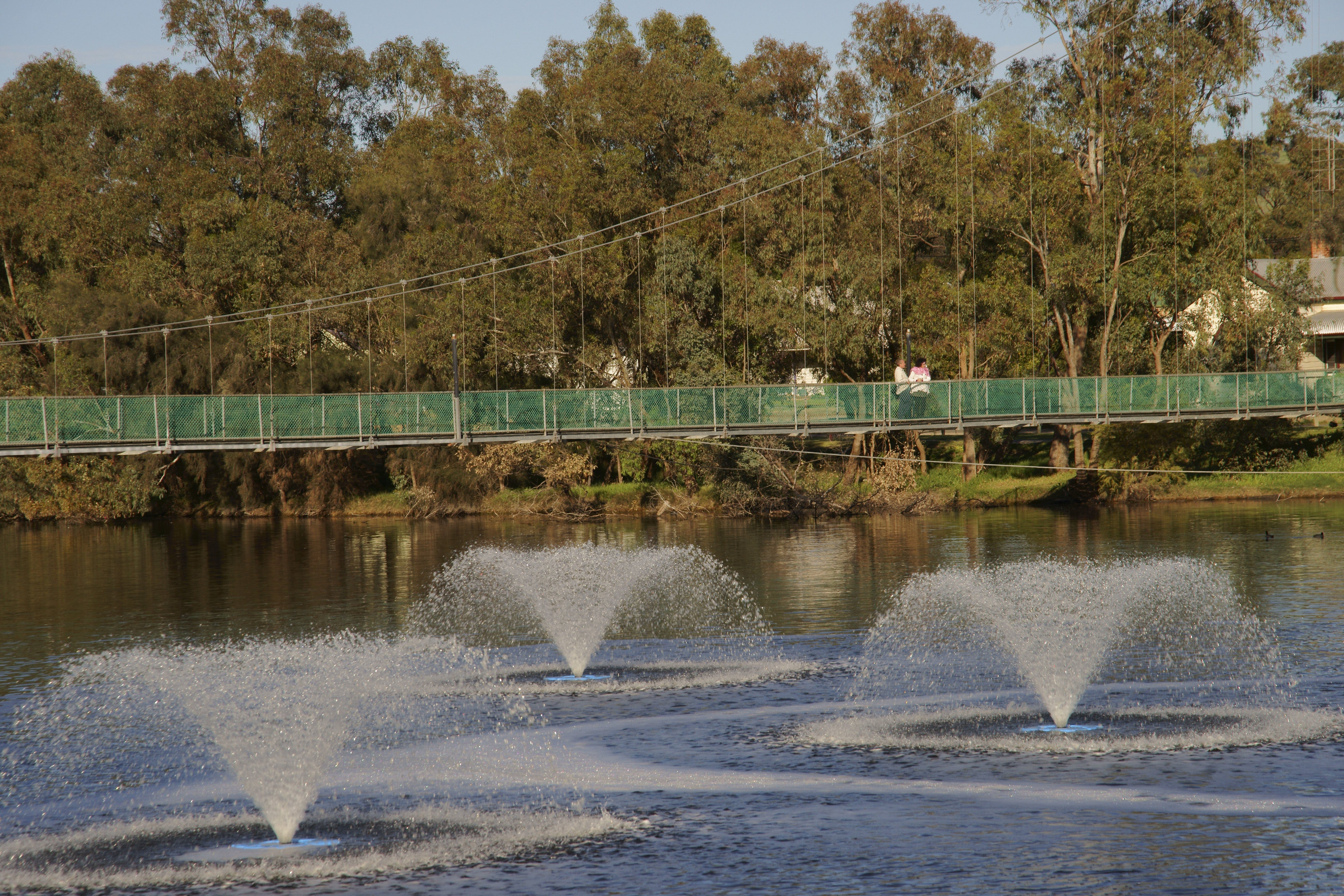 Suspension Bridge - Carnarvon Accommodation